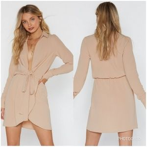 NASTY GAL shirt dress